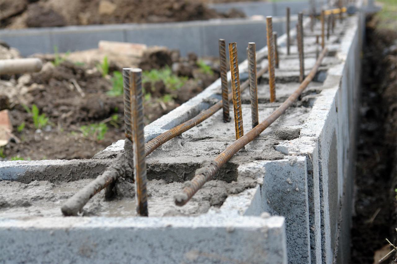 Технология строительства фундамента дома