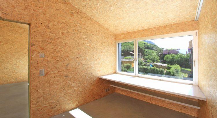 отделка стен из ОСП плит внутри дома