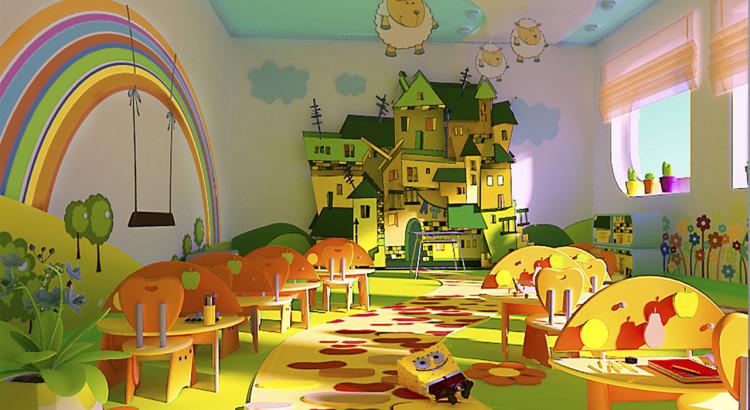 Дизайн и оформление помещений детских садов 655