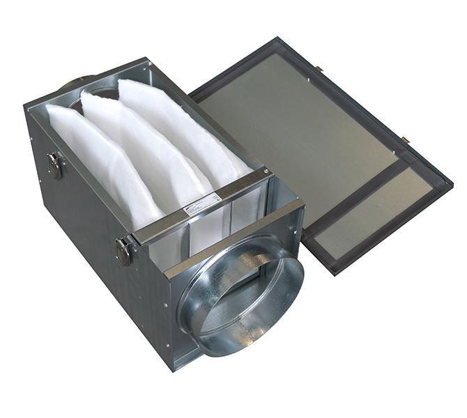 фильтрующие элементы в системе вентиляции
