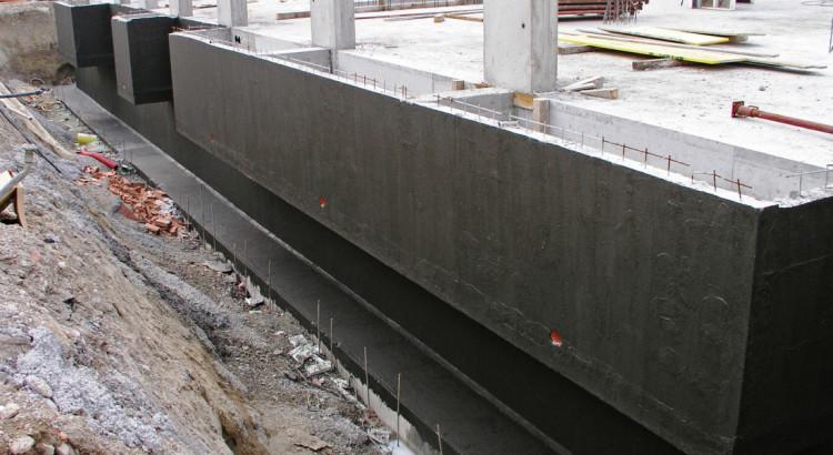 гидроизоляция конструкций фундамента
