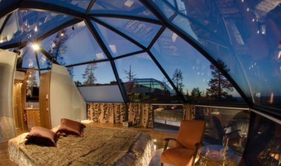 сферический дом из стелка