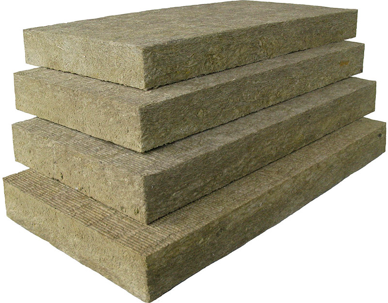 Каменную вату производят из базальта.