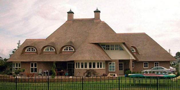 комбинирование различных типов крыш
