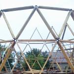 Коннекторы купольных домов. Способы соединения рёбер купола. Как сделать коннектор своими руками.