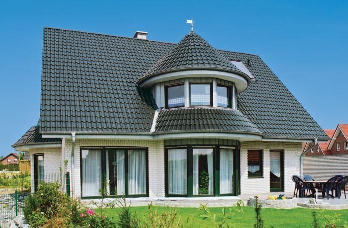 конусная купольная крыша