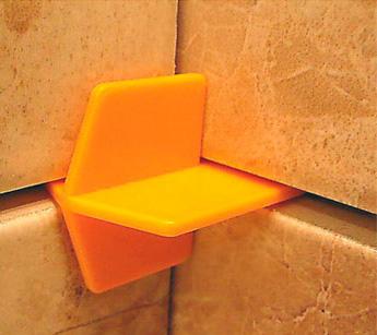 усиленный крестик для плиток на двух стенах