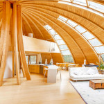 Купольная крыша. Технология строительства и расчёт купольной крыши.