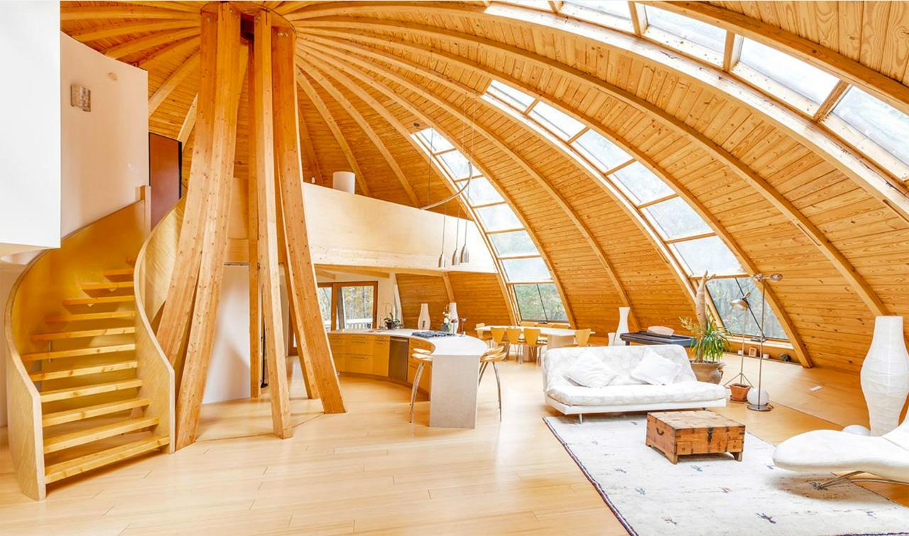 Интерьер для купольного дома