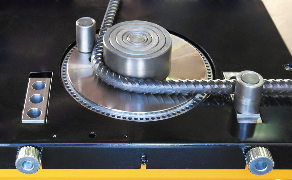 механическое устройство для гибки арматуры