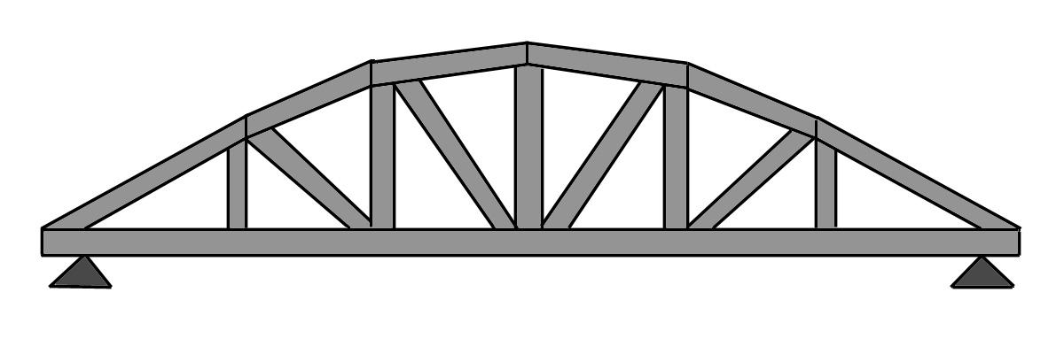 металлические арочные стропила