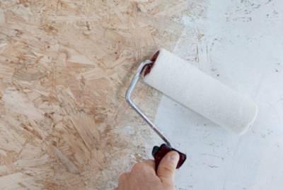 Чем покрыть осб плиту внутри помещения
