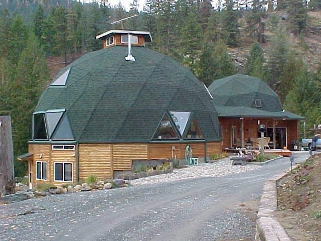 основание под строительство купольной крыши