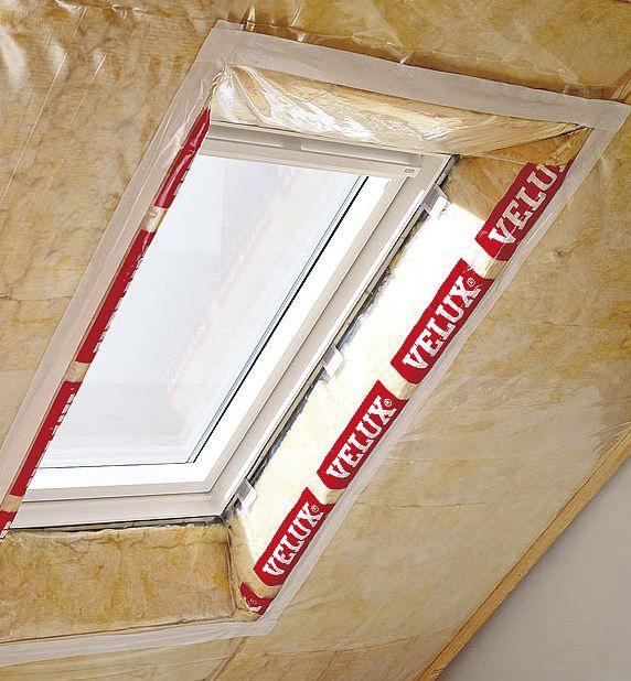 пароизоляция мансардного окна