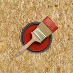 Как покрасить ОСБ плиты внутри дома