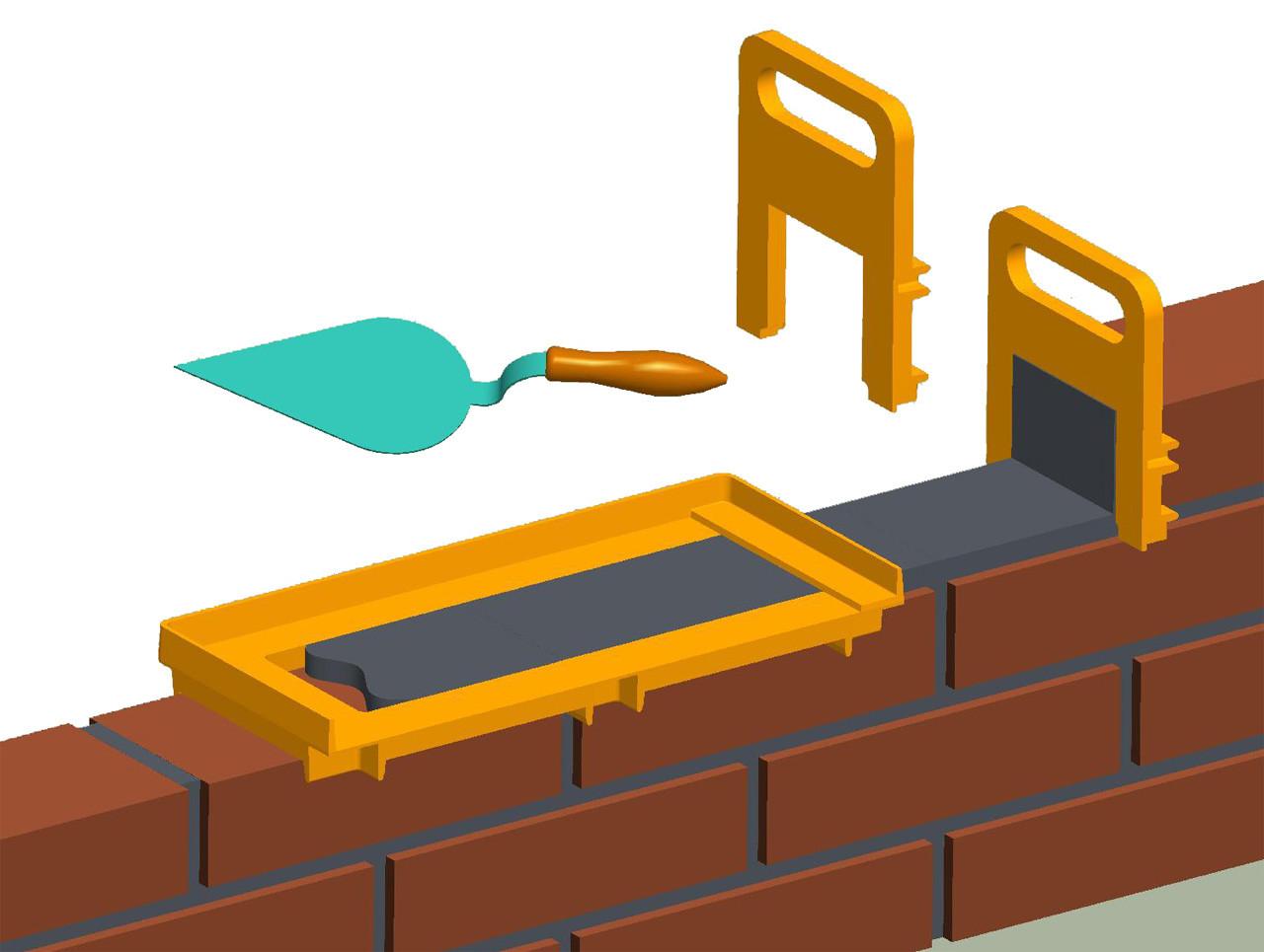 приспособления для кладки клинкерного фасада