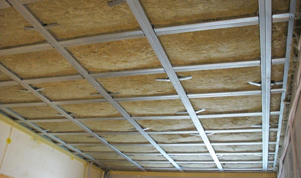 Шумоизоляция потолка под гипсокартон в квартире