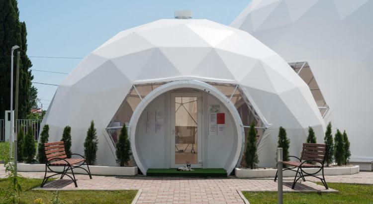сферический дом или дом-сфера