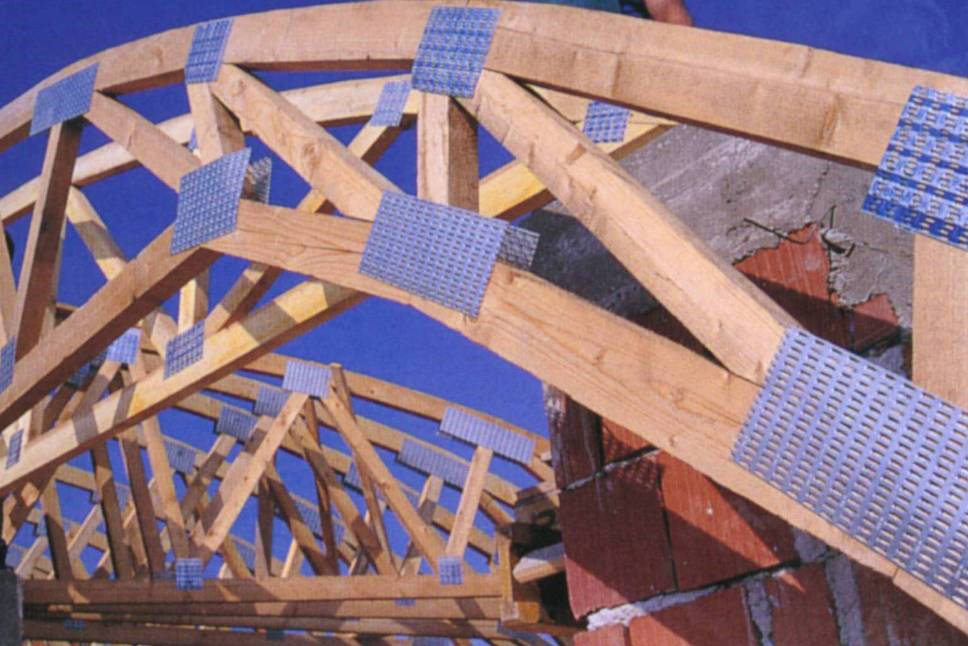 стропила купольной крыши