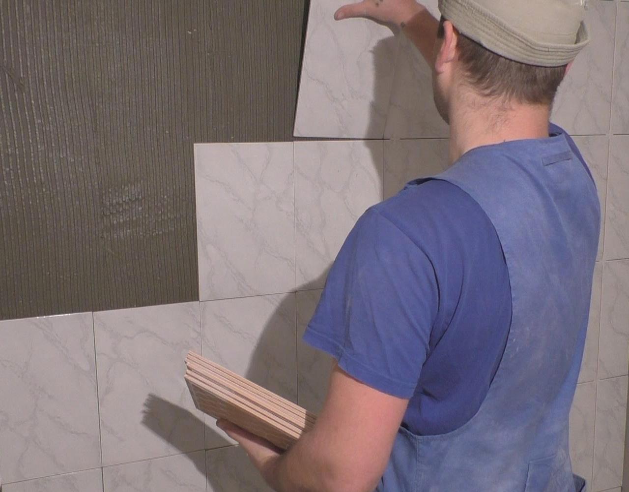 Плитка укладка на стену фото