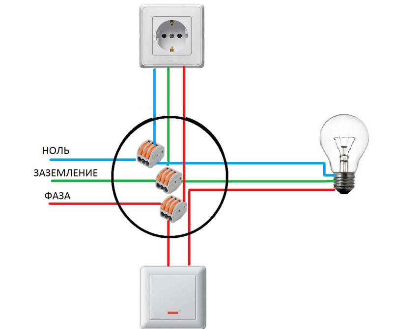 Схема кухонного купольного воздухоочистителя филипс